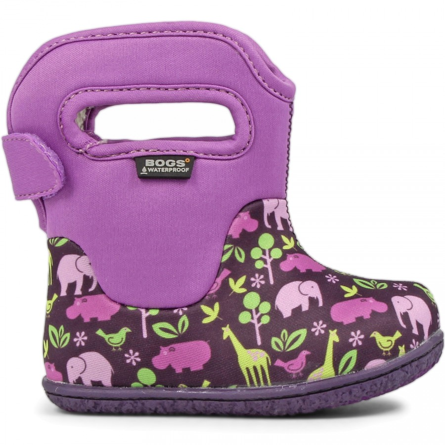 Bogs Clasic Animal Purple