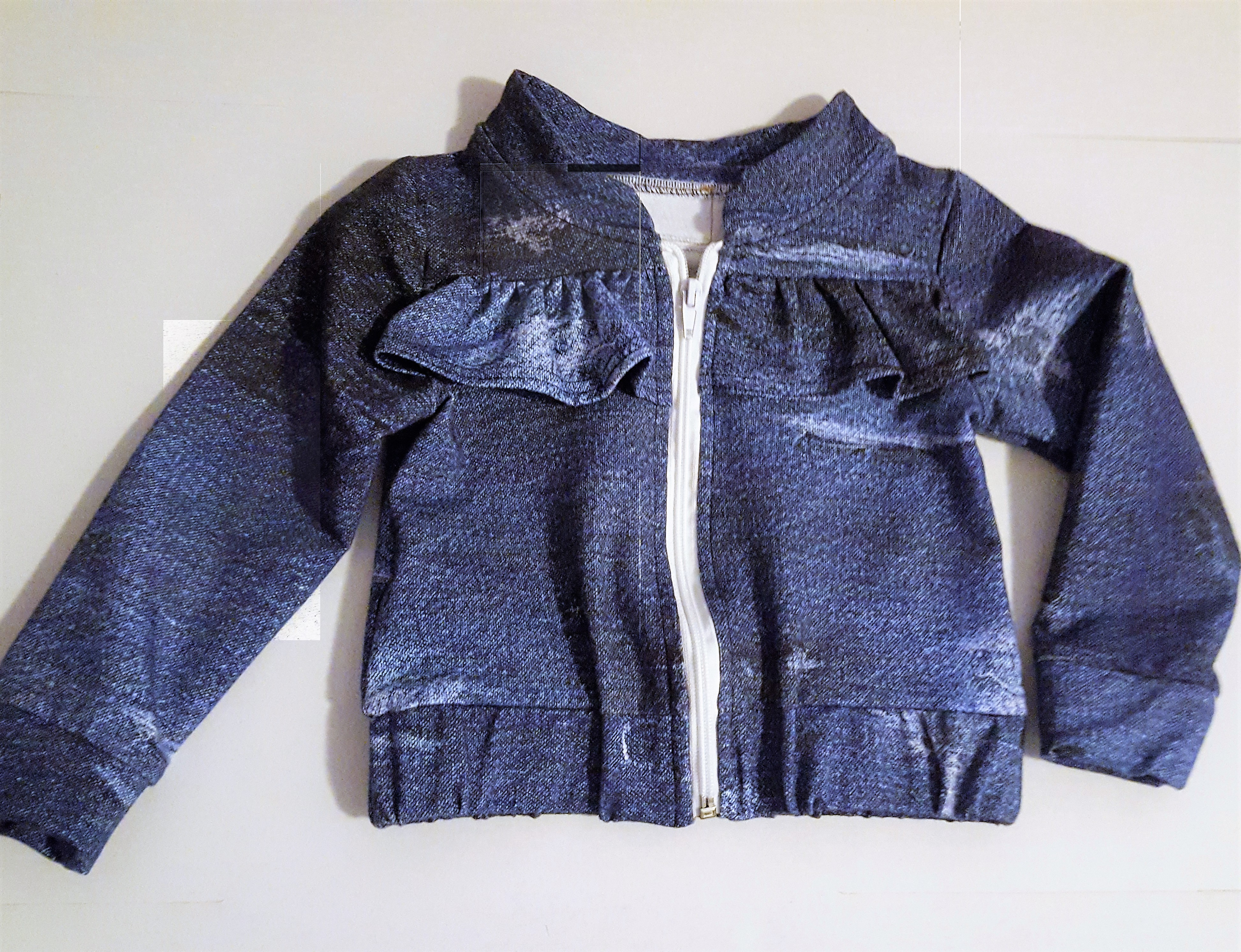 "Denim ""girly"" bundička"